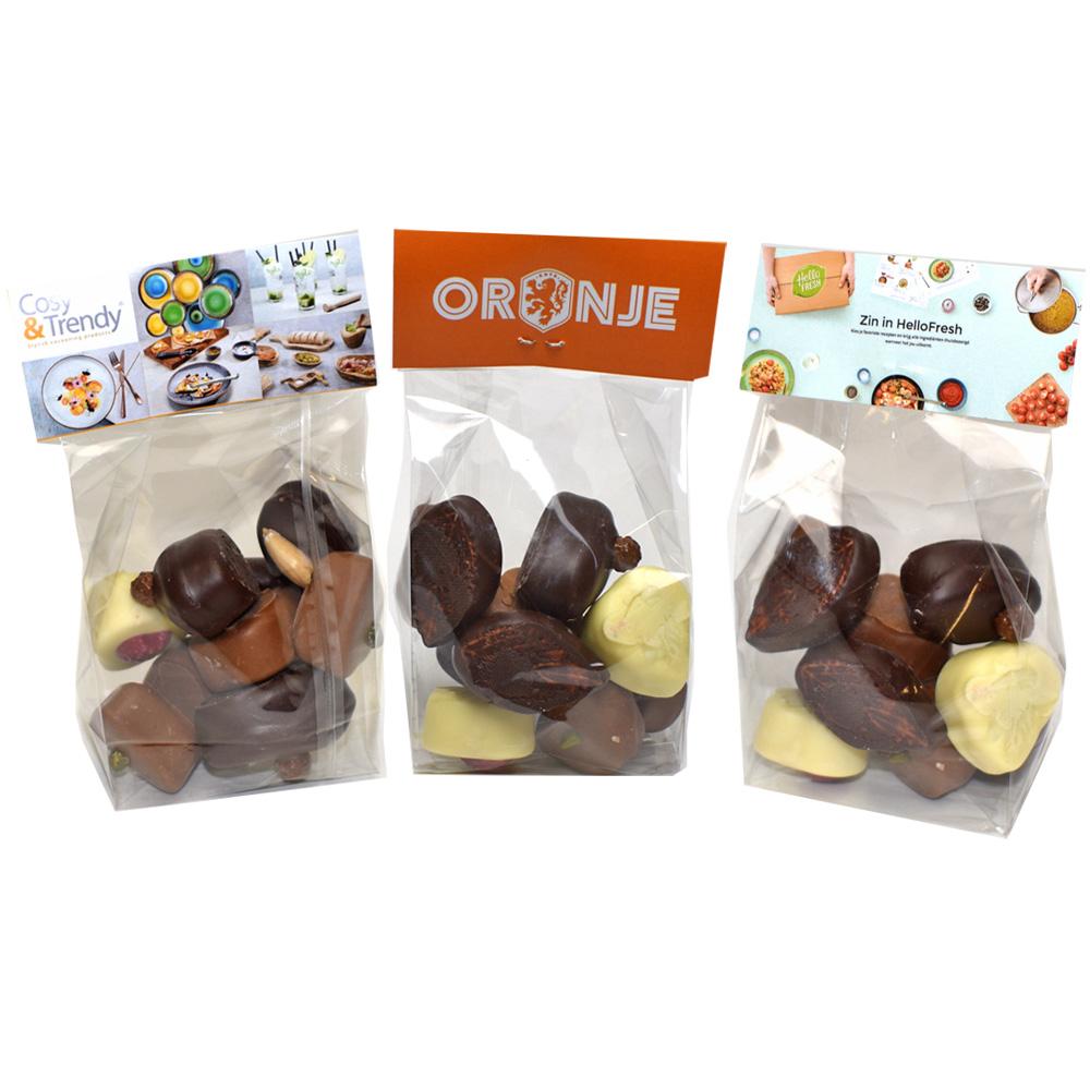 Reclame Chocolade Bonbons In Gepersonaliseerde Verpakking